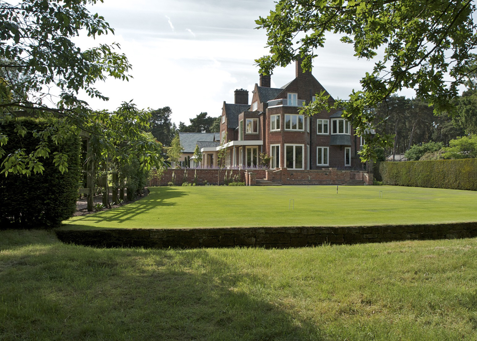 4. House lawn