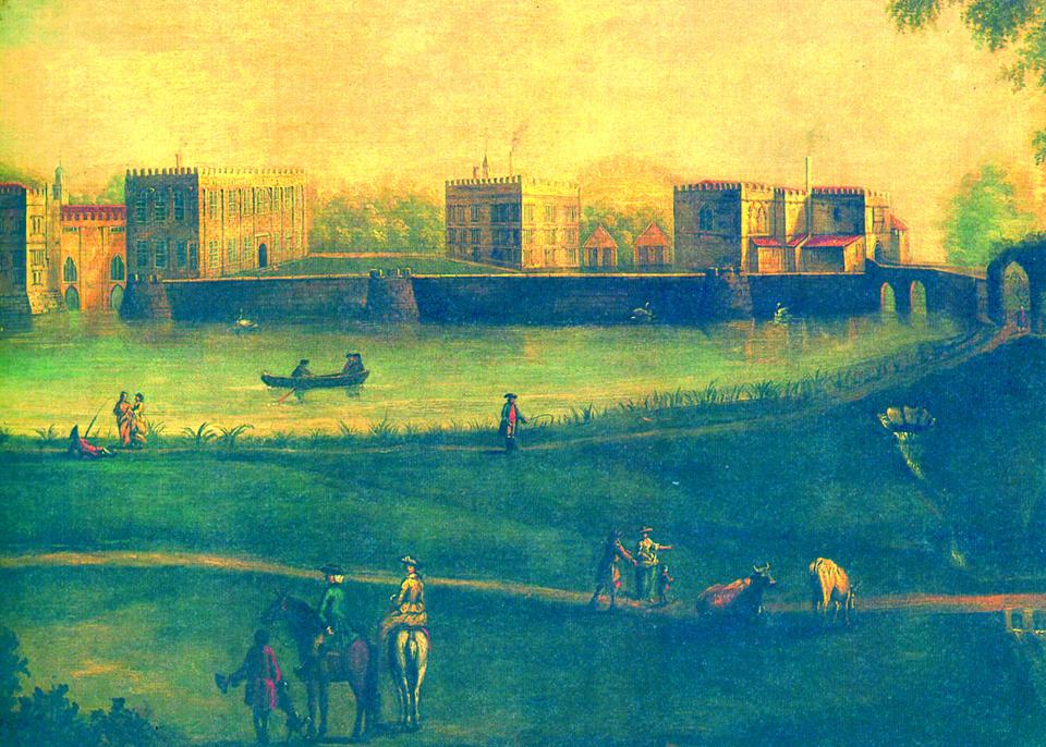 Leeds Castle 1750 colour