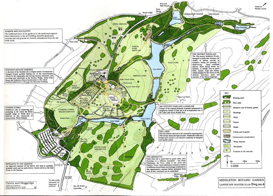 Middleton Botanic Garden PLAN
